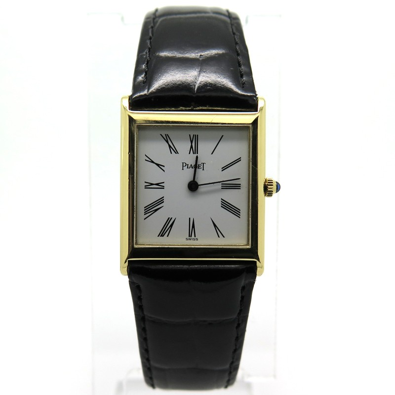 montres de luxe d occasion paris montre rectangulaire piaget 138. Black Bedroom Furniture Sets. Home Design Ideas