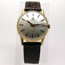 Montre Tissot automatique vintage en or rose 140