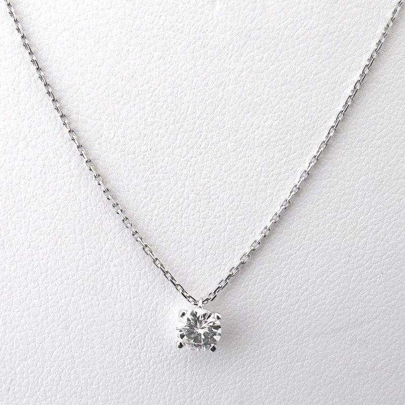 Collier Diamant Solitaire. Finest Collier Luminance Diamant With ... 6c3e0f381197