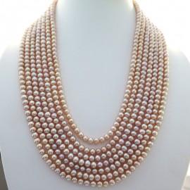 Collier de perles roses 314