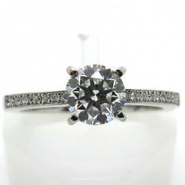 Chopard for Ever Bague en platine et diamants 1959