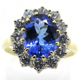 Bague tanzanite 2193