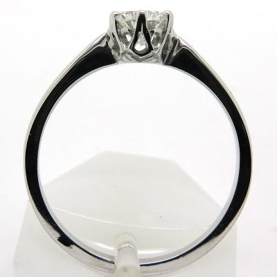 Solitaire diamant 56 points - Bague de fiançailles 1966