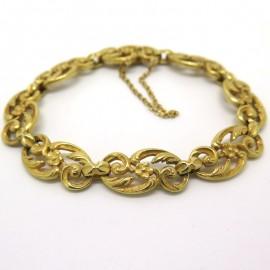 Bracelet ancien en or à décor de rinceaux 212
