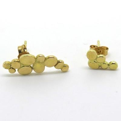 Boucles d'oreilles galets C50 - Création Philomène Thébault