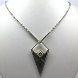 Collier amulette C128 - Philomène Thébault