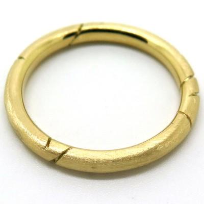 Alliance en or jaune C50 - Collection mariage - Philomène Thébault