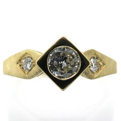 Bague trois diamants c51 - Philomène Thébault