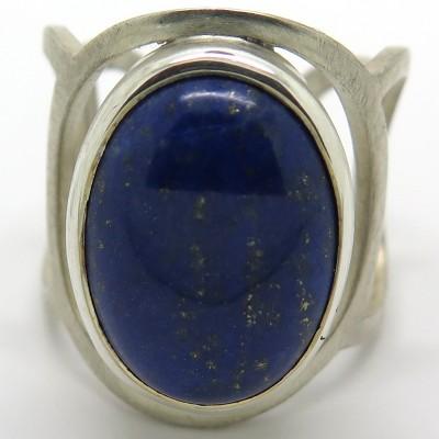 Joaillerie made in France - Bague en argent et lapis lazuli C55 - Philomène Thébault