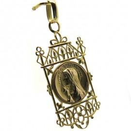 "Médaille de la Vierge "" Virgo Virginum "" 334"