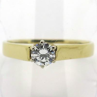 Solitaire diamant en or 1845