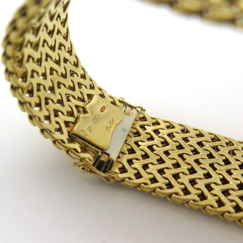 Very valuable cartier cuff bracelet vintage