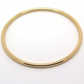 Bracelet jonc or rose 197