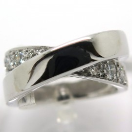 CARTIER Paris Nouvelle Vague – Bague en or blanc et diamants 1791