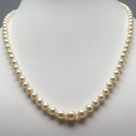 Collier de perles de culture Akoya bel orient 282