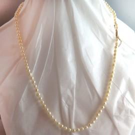 Collier de perles du Japon vintage - Jussieu 286