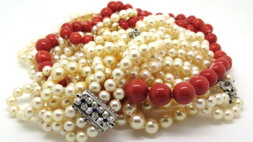 combien coute un collier de perles